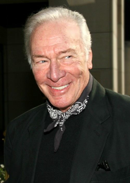 Christopher Plummer at the Toronto International Film Festival in 2007