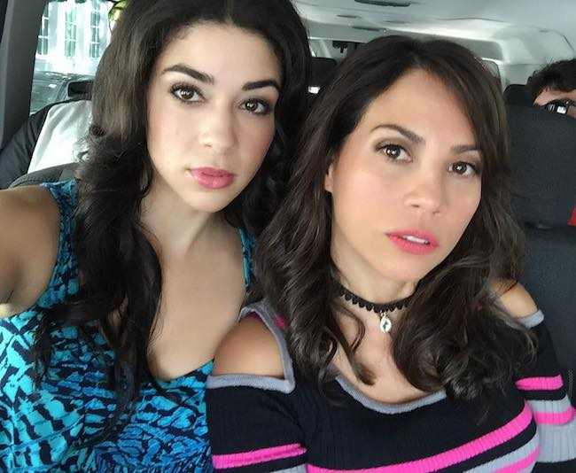 Elizabeth Rodriguez and Karina Ortiz in a selfie in June 2017