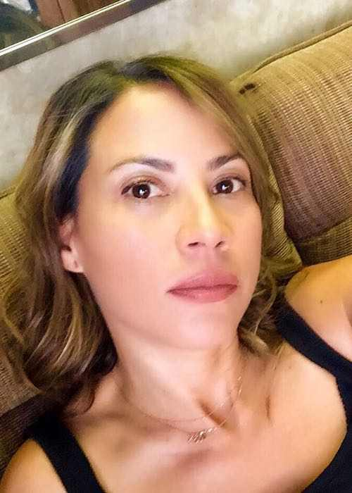 Elizabeth Rodriguez in an Instagram selfie in July 2017