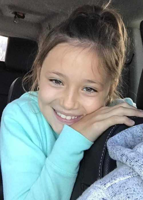 Jazmyn Bieber in an Instagram selfie in September 2017