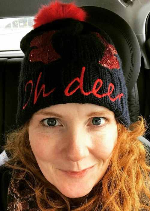 Jennie McAlpine in an Instagram selfie as seen in December 2017