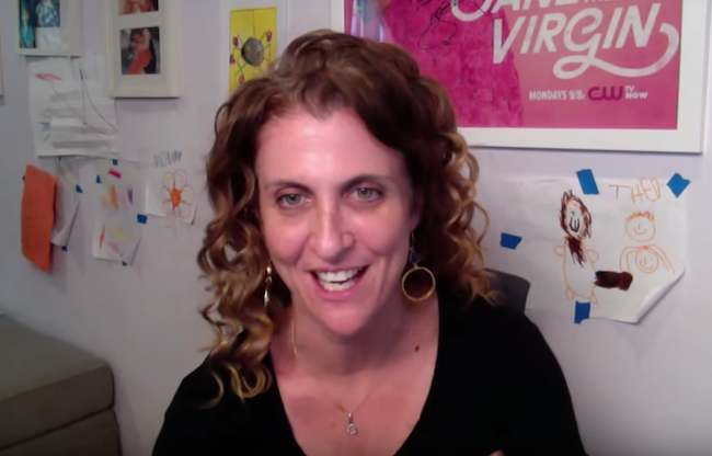Jennie Snyder Urman talking about the 'Jane the Virgin' challenges in 2015
