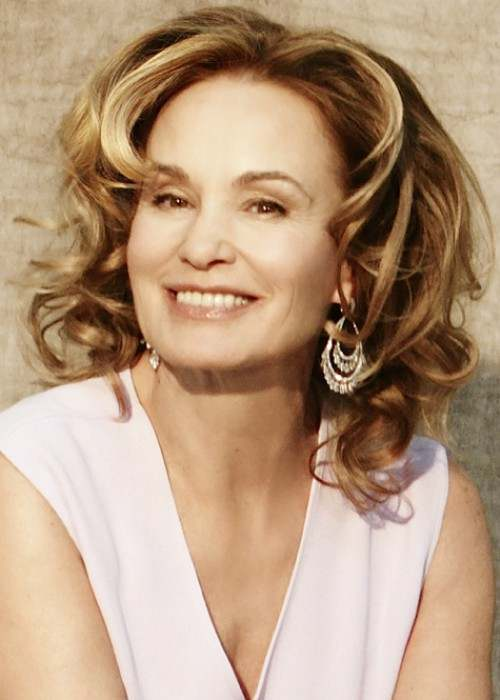 Jessica Lange as seen in April 2008