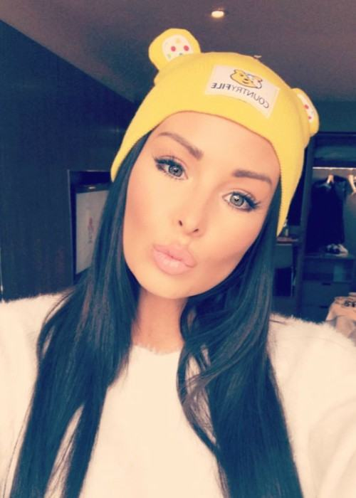 Jessica Wright in an Instagram selfie as seen in November 2017