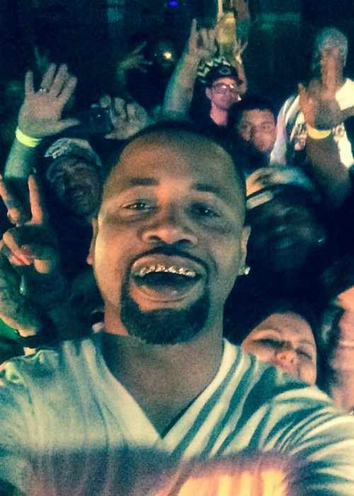 Juvenile in an Instagram selfie in May 2014