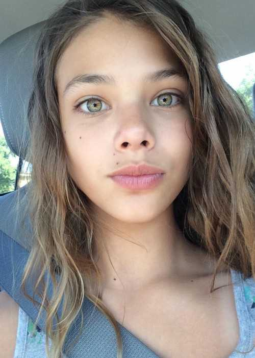 Laneya Grace in an Instagram Selfie in June 2016