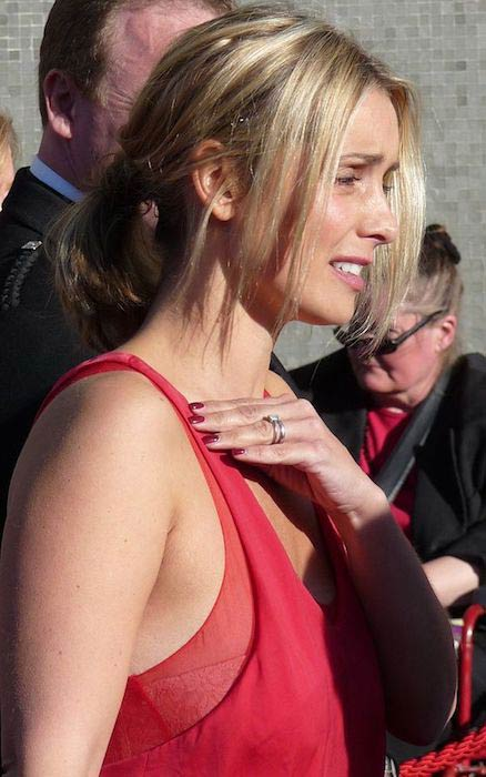 Louise Redknapp at the 2009 BAFTA Awards