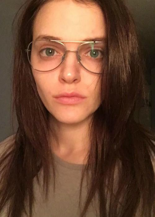Madeline Brewer in an Instagram selfie as seen in March 2017