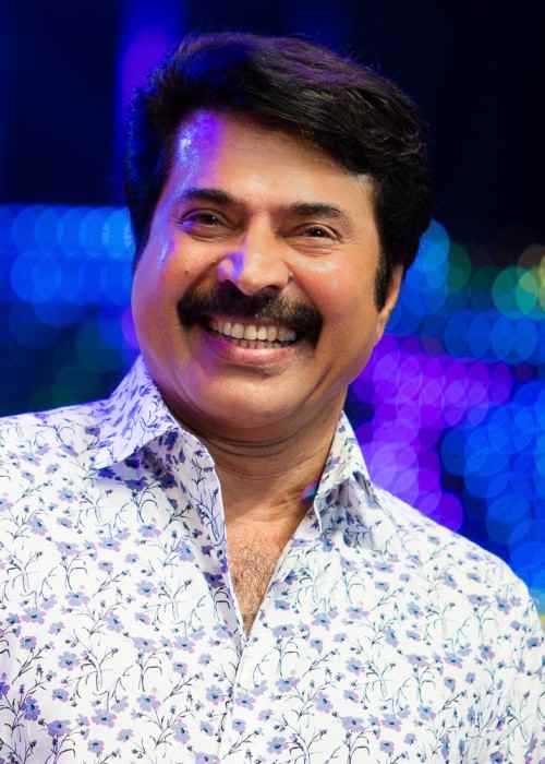 Mammootty at Asiavision Awards in 2013