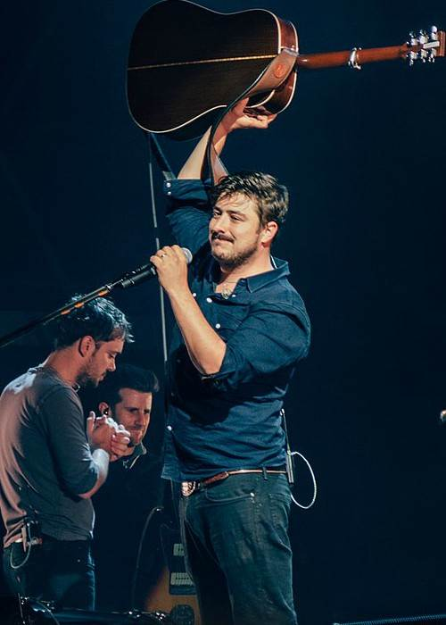 Marcus Mumford as seen in August 2015