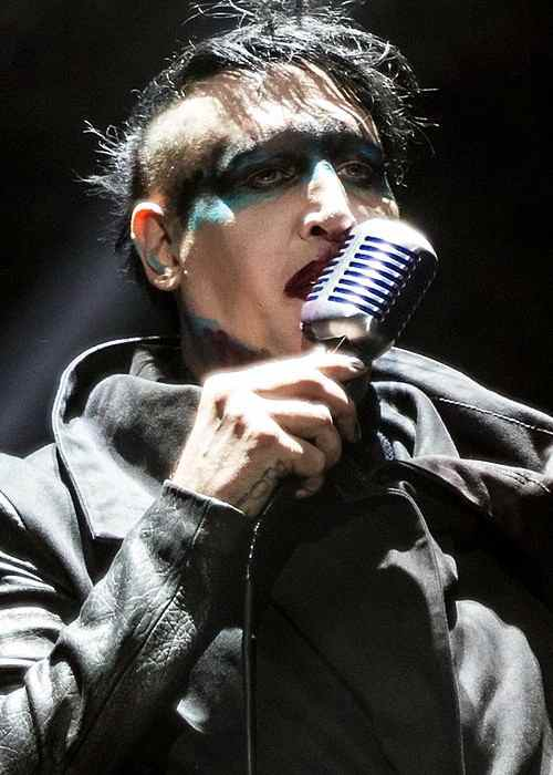 Marilyn Manson as seen in June 2015