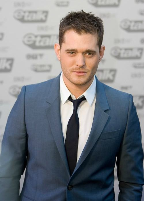 Michael Buble at the 2009 Junos in Vancouver