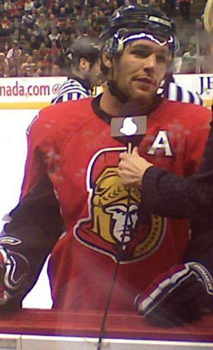 Mike Fisher as seen in March 2008