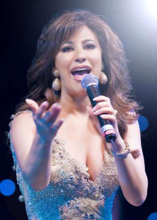 Najwa Karam as seen in December 2008