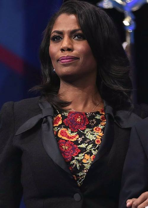 Omarosa Manigault at the 2017 CPAC