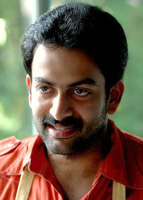 Prithviraj Sukumaran as seen in 2008