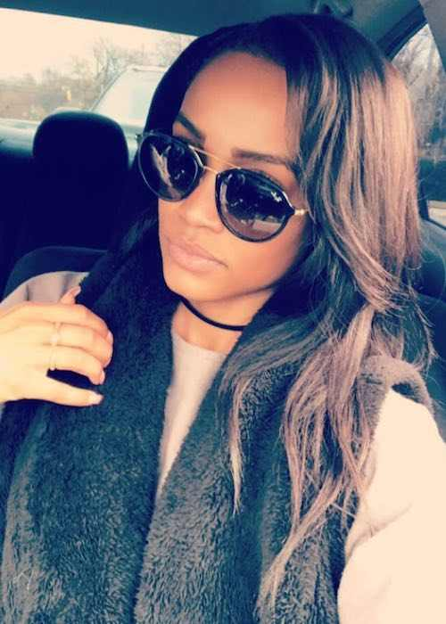 Rachel Lindsay in an Instagram selfie in October 2017