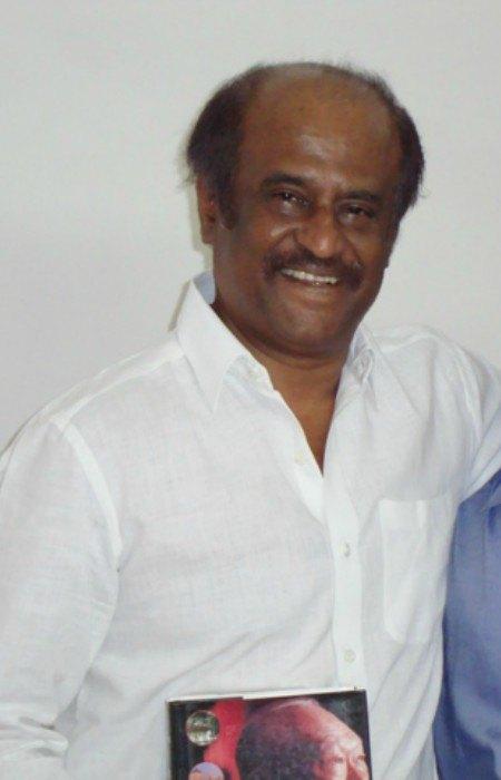 Rajinikanth as seen in February 2011
