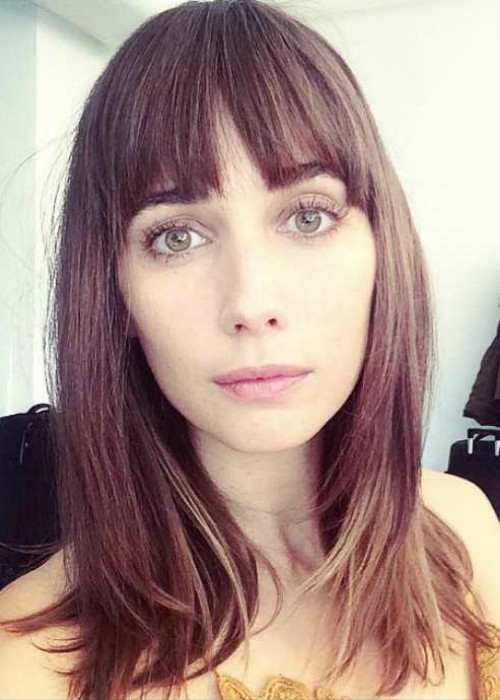 Rebecca Dayan in an Instagram selfie as seen in November 2014