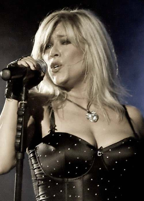 Samantha Fox as seen in April 2009
