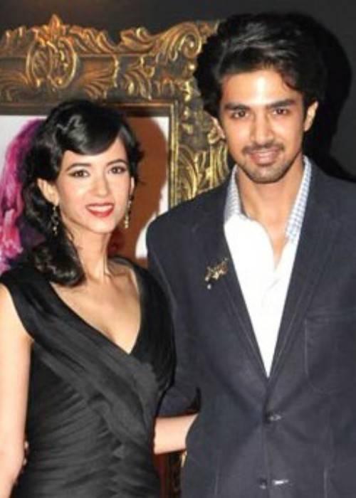 Saqib Saleem (Right) and Saba Azad as seen in November 2012