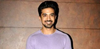 Saqib Saleem at special screening of Shubh Mangal Saavdhan in September 2017