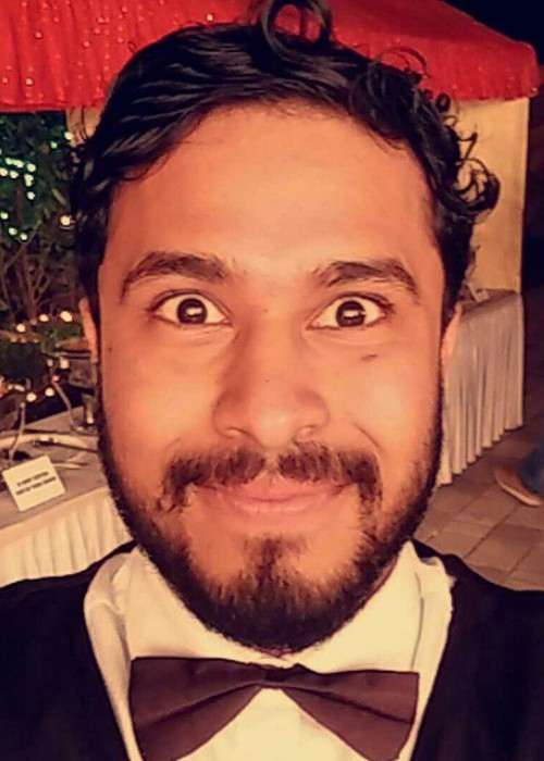 Abish Mathew in an Instagram selfie as seen in May 2015