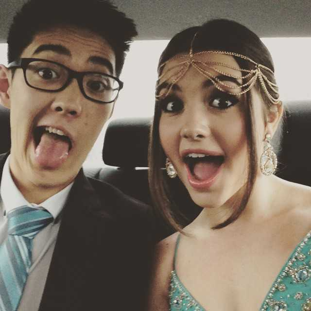 Ana Golja and Andre Dae Kim in an Instagram selfie in June 2015