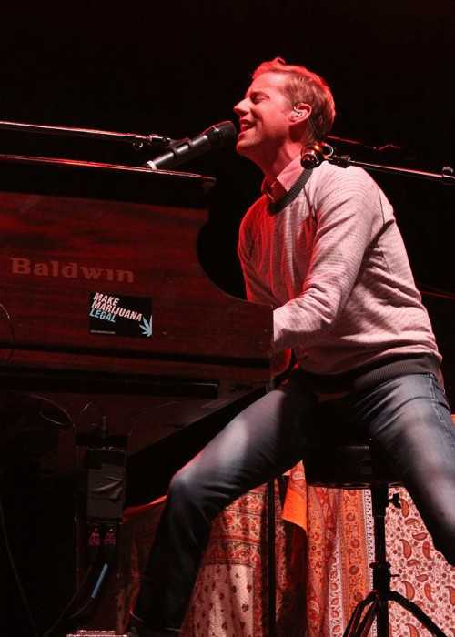 Andrew McMahon Playing in Wisconsin Dells in July 2014