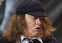 Angus Young Healthy Celeb