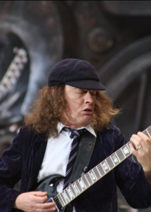 Angus Young as seen in July 2011