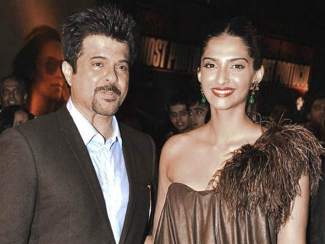 Anil Kapoor and Sonam Kapoor at the screening of 'Mission Impossible - Ghost Protocol' in 2011