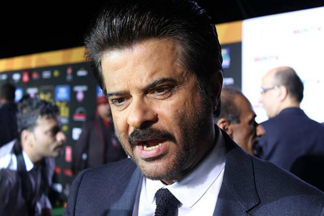 Anil Kapoor at IIFA in April 2014
