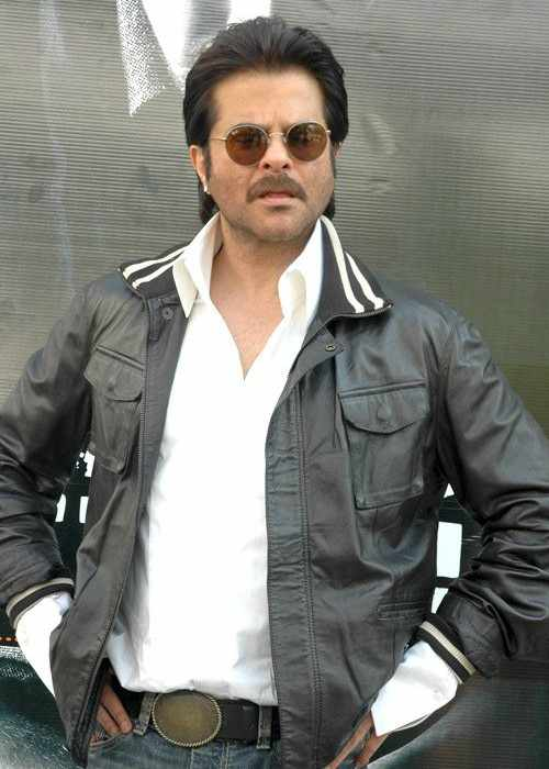 Anil Kapoor at the Audio release of Black N White
