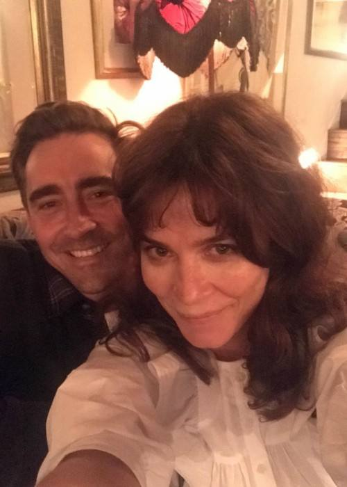 Anna Friel and Lee Pace in an Instagram selfie as seen in September 2017