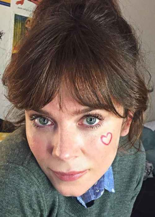 Anna Friel in an Instagram selfie as seen in September 2017