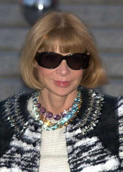 Anna Wintour at the 2010 Tribeca Film Festival