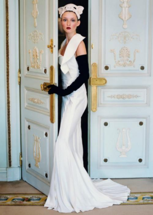 Audrey Marnay at the Hotel Ritz in Paris in March 1999