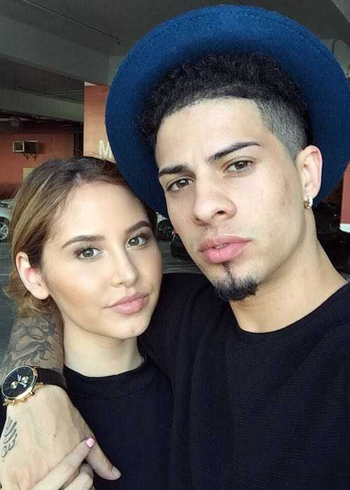 Austin McBroom and Catherine Paiz in a selfie in September 2016