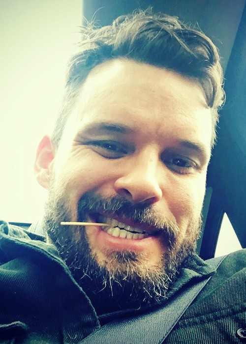 Austin Nichols in an Instagram selfie as seen in March 2017