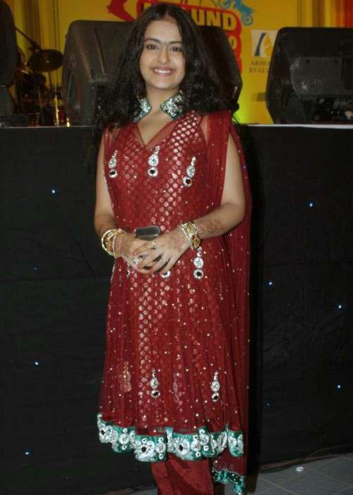 Avika Gor at Mulund Festival in January 2000