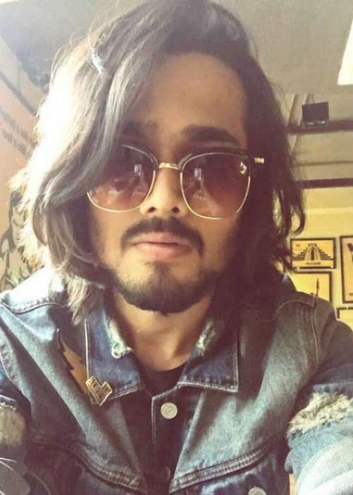 Bhuvan Bam in an Instagram selfie in November 2017