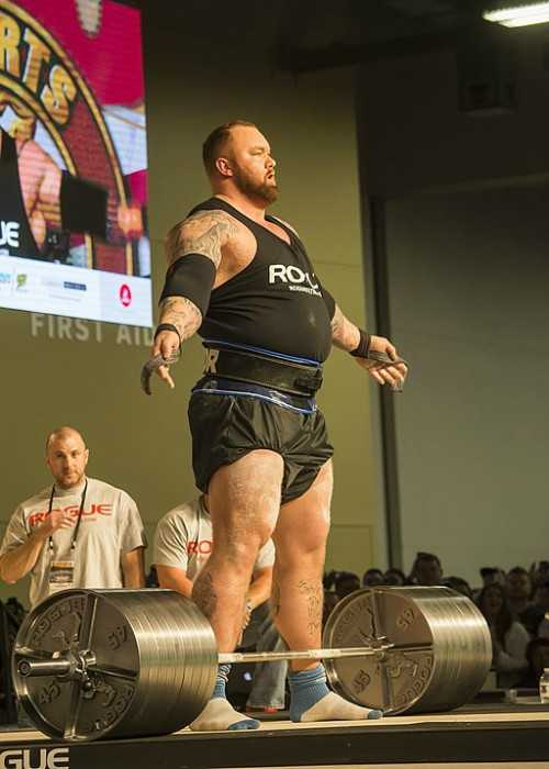 Björnsson Competing at the Aronald Classic Coulumbus in Ohio in 2017