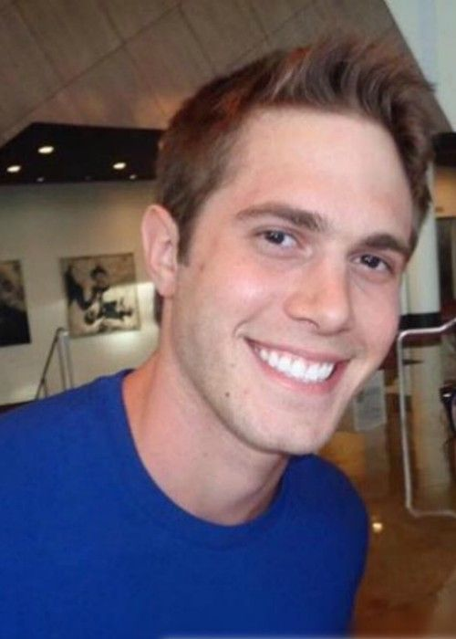 Blake Jenner in a selfie in July 2016