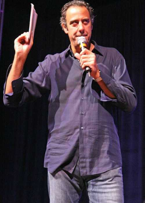 Brad Garrett at the Make a Wish Wine Auction in May 2007