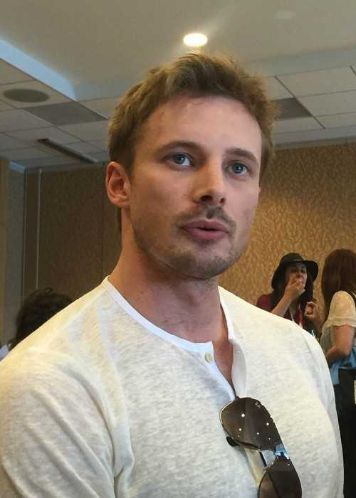 Bradley James at the 2015 Comic-Con International