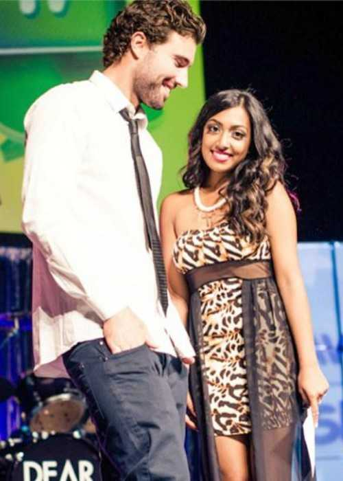 Brody Jenner and Melinda Shankar at 2013 teenzFAV awards
