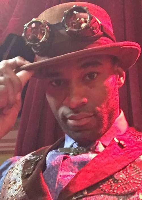Calvin Johnson Jr. in an Instagram selfie in October 2016