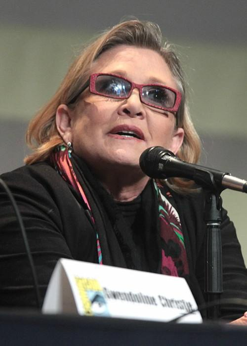 Carrie Fisher as seen in July 2015