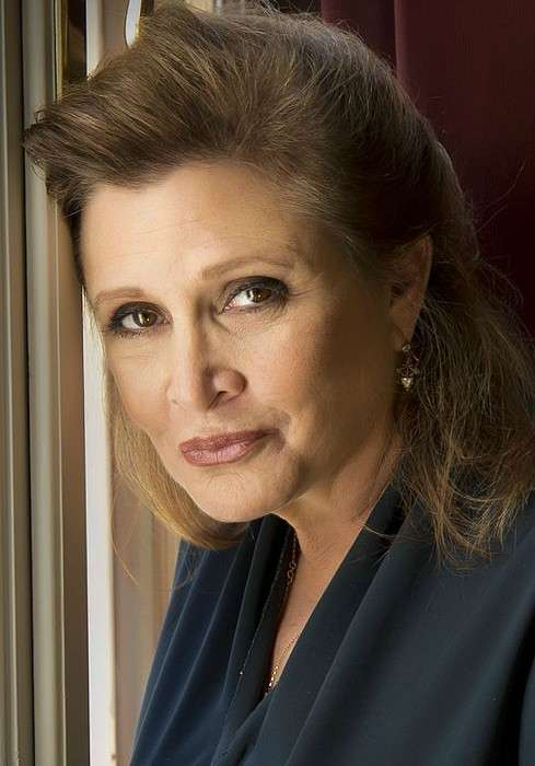 Carrie Fisher as seen in Septembe 2013
